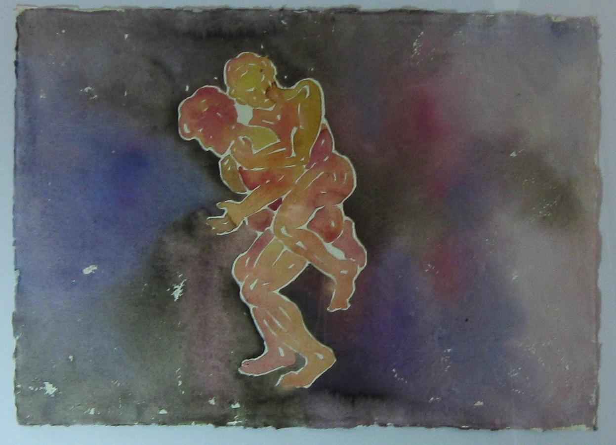 akvarel 30 x 41 cm 14 000 Kč