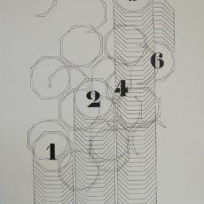 Grygar litografie VII 44,5 x 62,5 cm 22 000 Kč